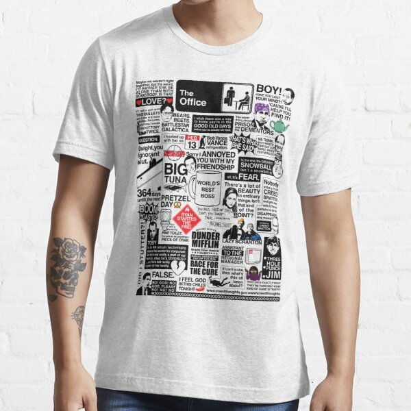 Weise Worte aus dem Büro - Die Office-Zitate (Variante) Essential T-Shirt