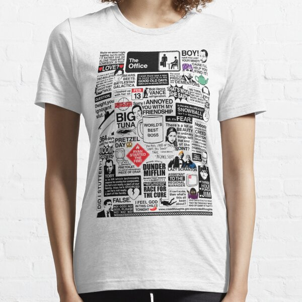 Wise Words From The Office - The Office Quotes (Variant) Essential T-Shirt