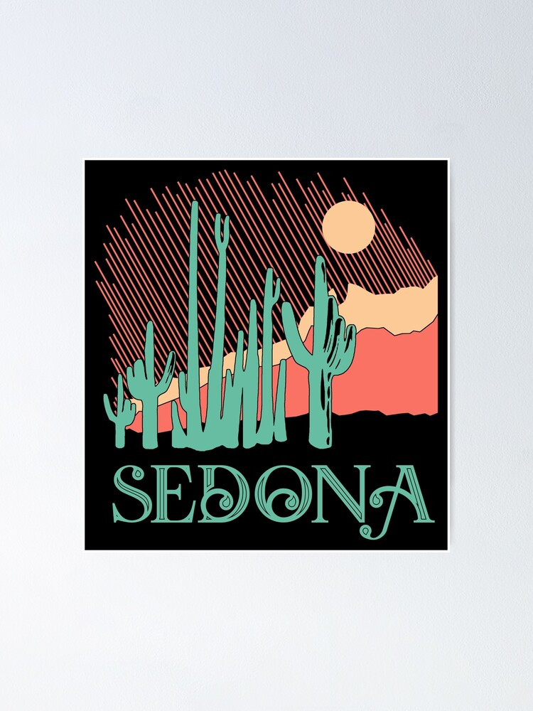 Alternate view of Sedona Poster