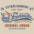 San Francisco Vintage Hand Lettering College by Chocodole