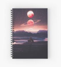 Not A Home Spiral Notebook