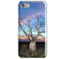 Boab Tree Sunset iPhone Case/Skin