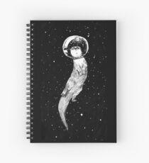 Cuaderno de espiral Drifting en Otter Space