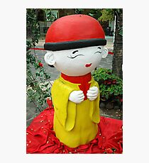 chinesse doll Photographic Print