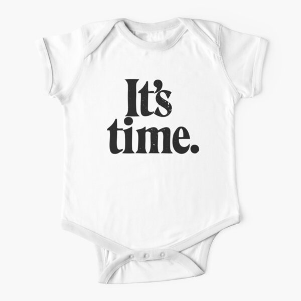 Gough Whitlam - Its time Short Sleeve Baby One-Piece