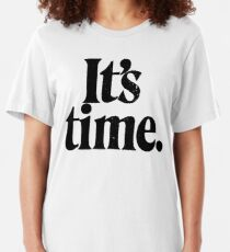 Gough Whitlam - Its time Slim Fit T-Shirt
