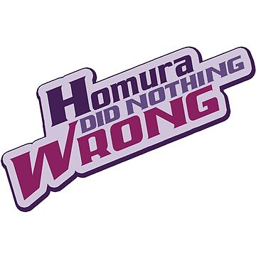 Homura Did Nothing Wrong by DBTee