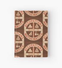 Occupations Mathematics Hardcover Journal