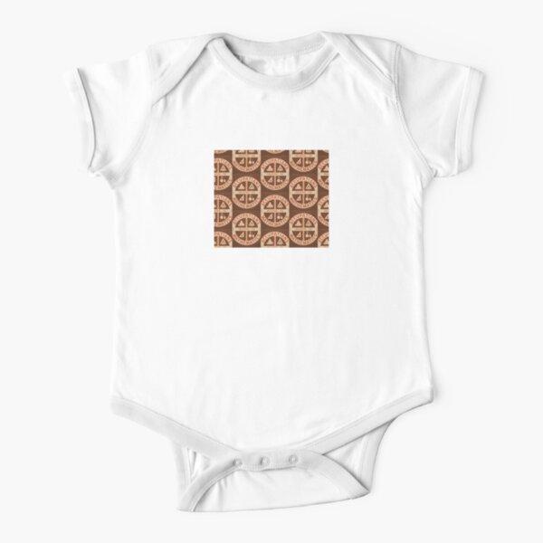 Occupations Mathematics Short Sleeve Baby One-Piece