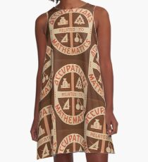 Occupations Mathematics A-Line Dress