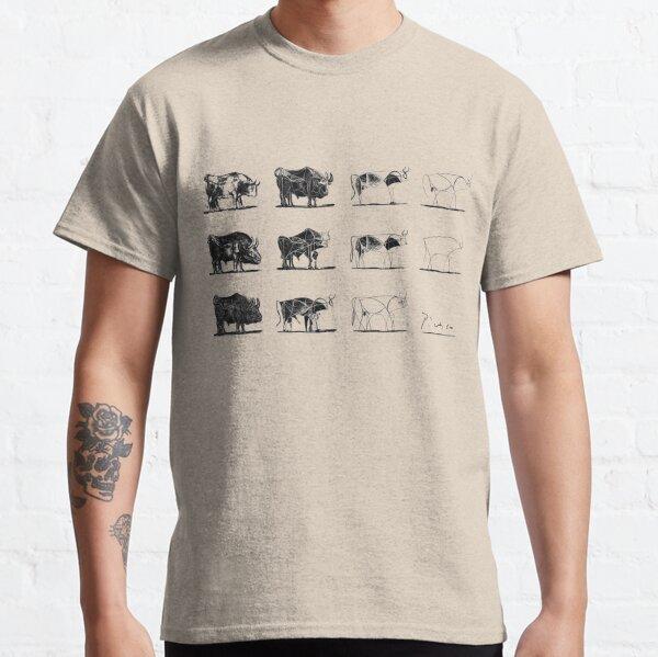 Taureaux Picasso T-shirt classique