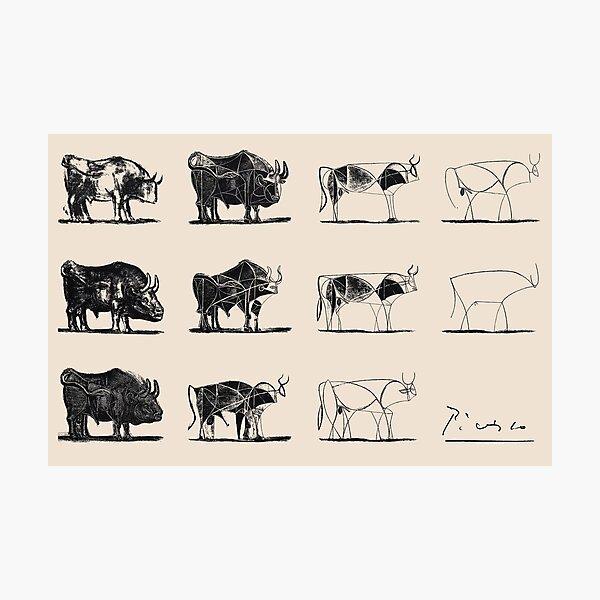 Taureaux Picasso Impression photo