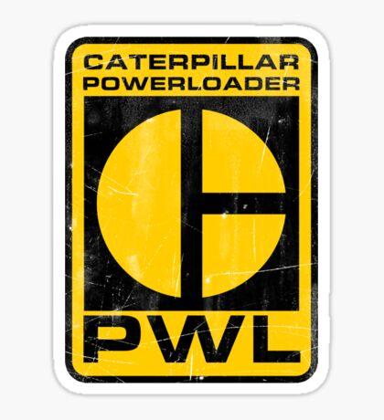 Caterpillar Powerloader Sticker