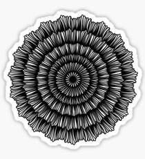 Pegatina Flor dibujada a mano 4