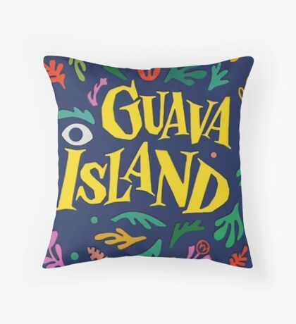 Guava Island Throw Pillow