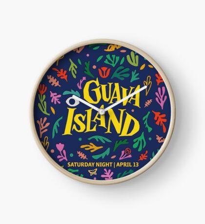 Guava Island Clock