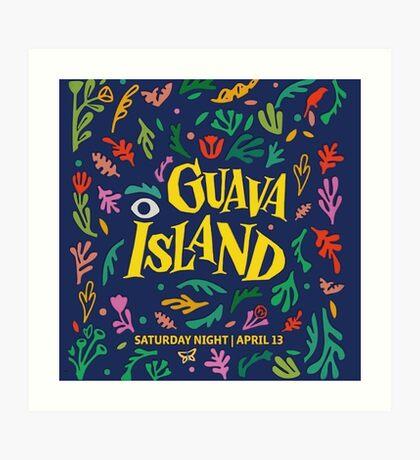 Guava Island Art Print