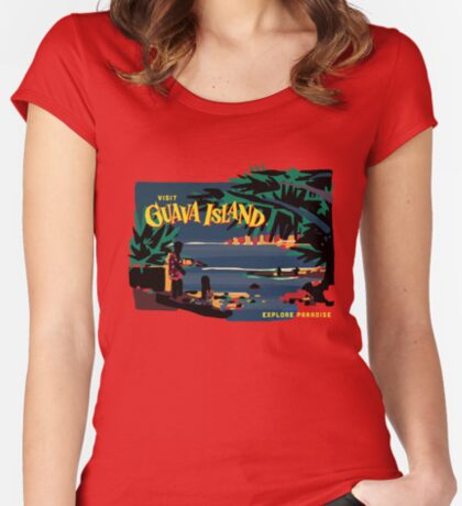 Guava Island Fitted Scoop T-Shirt