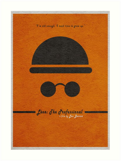 Leon The Professional by geekmywall