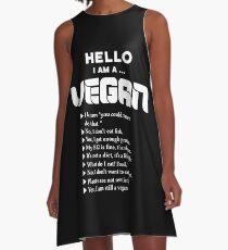 Vegan lifestyle tutorial A-Line Dress