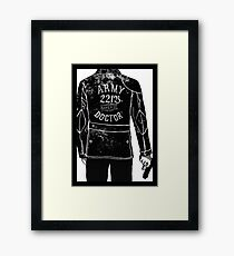 The Army Doctor Framed Print