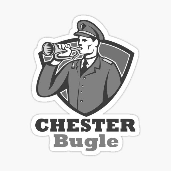 Chester Bugle Logo Sticker