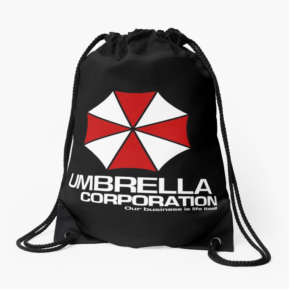 Umbrella Corporation logo inspired by Resident Evil Drawstring Bag