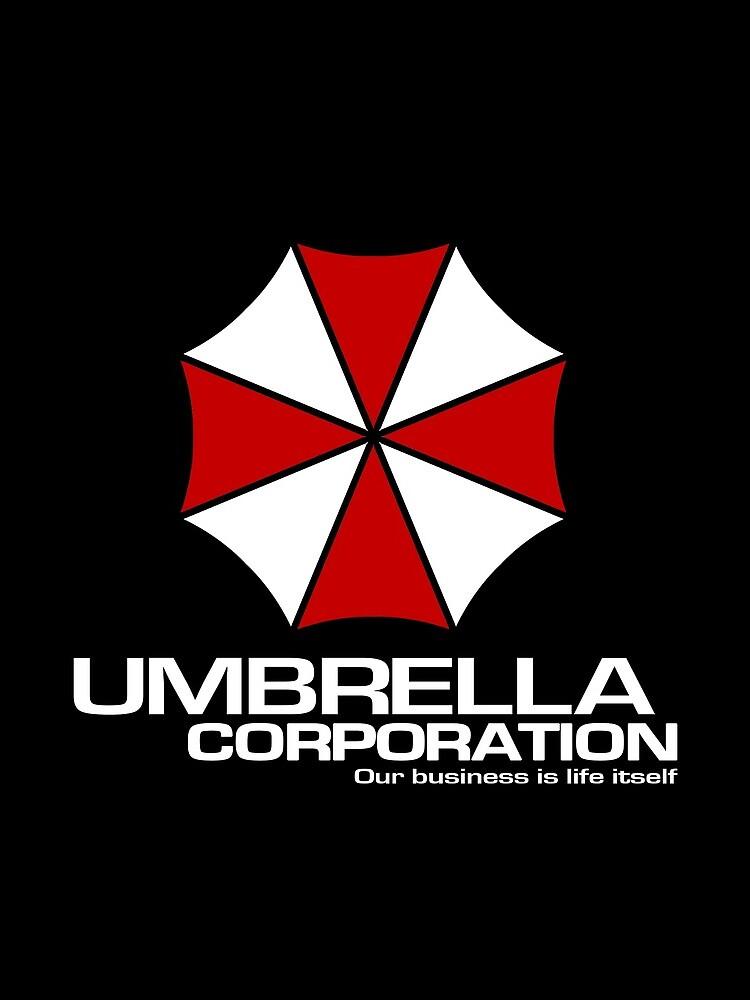 Umbrella Corporation logo inspired by Resident Evil by landobry