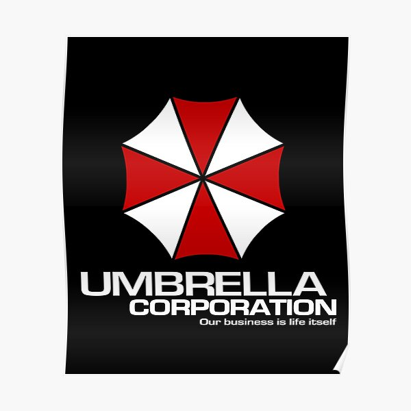Umbrella Corporation logo inspired by Resident Evil Poster
