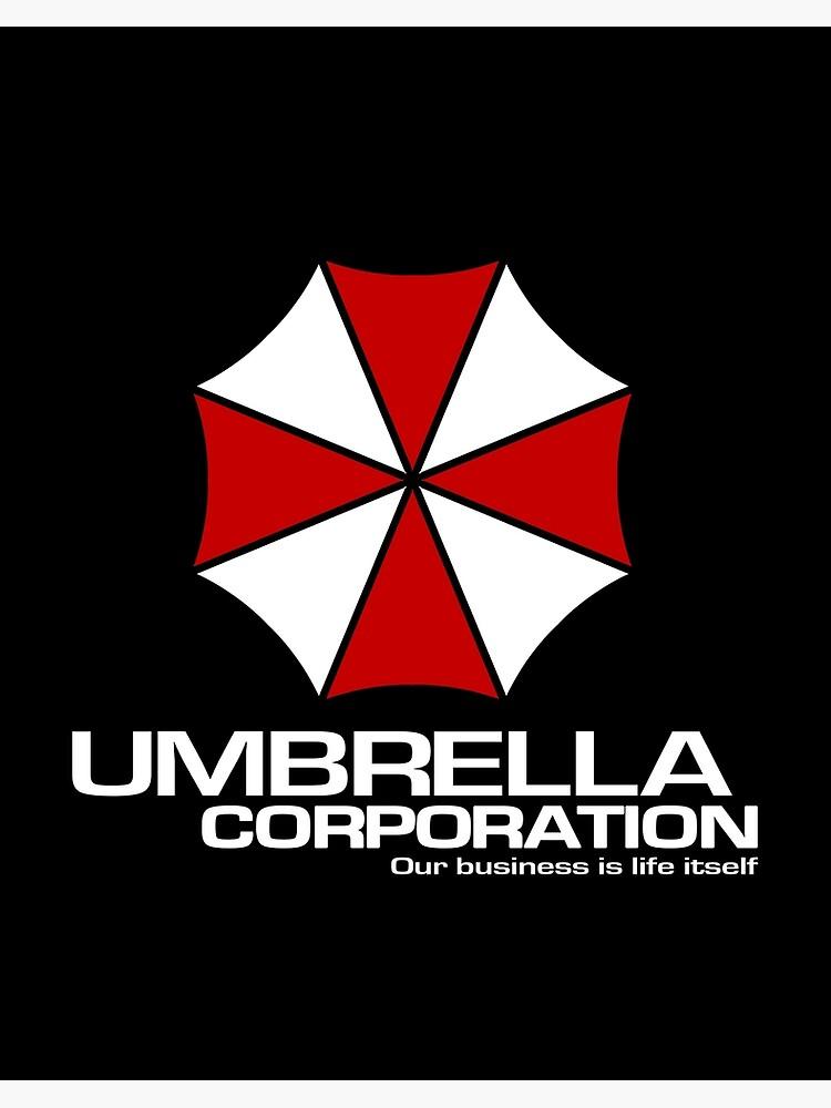 Umbrella Corporation Logo Inspired By Resident Evil Art Board