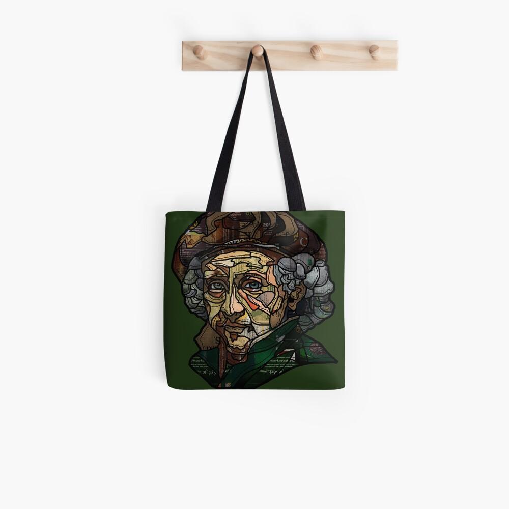 digital collage after self portrait of Rembrandt  Tote Bag