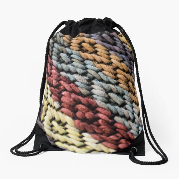 Plant Dyed Drawstring Bag