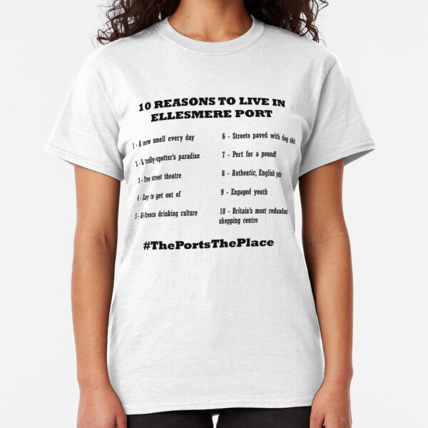 Ports the Place Classic T-Shirt