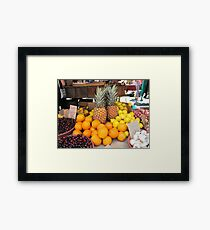 Fruit for Dessert Tonight Framed Print