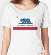 Grateful Republic Women's Relaxed Fit T-Shirt