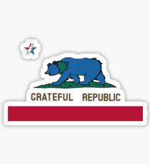 Grateful Republic Sticker
