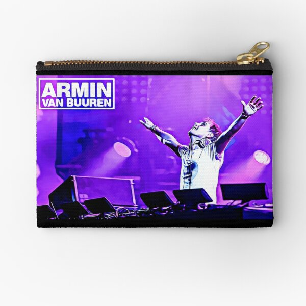 Armin Van Buuren, Music, Dj, Digital artwork  Zipper Pouch