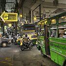 Traffic in Bangkok by laurentlesax