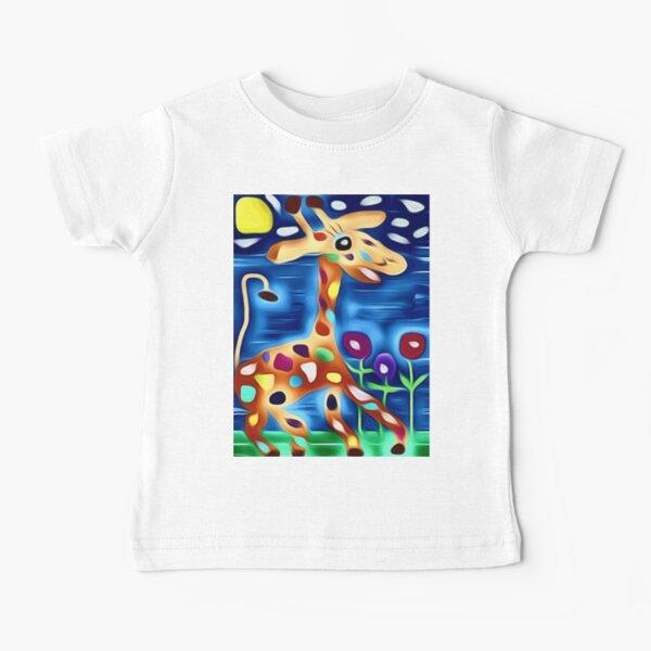 The rainbow Giraffe! Baby T-Shirt