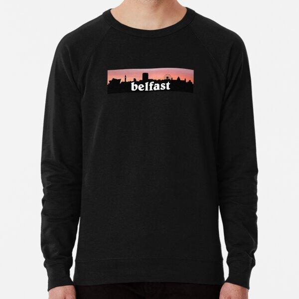 I Love Heart Belfast Black Sweatshirt