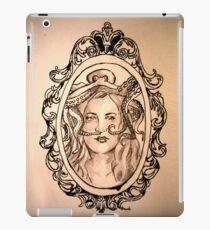 a lady's companion iPad Case/Skin