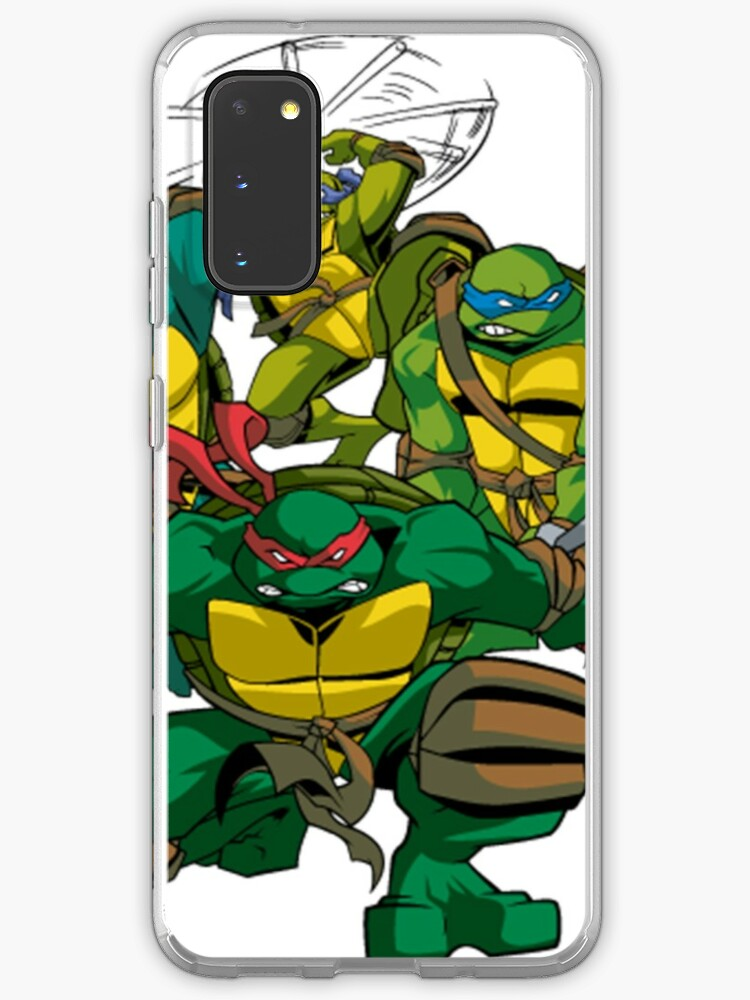 Tmnt 2003 Case Skin For Samsung Galaxy By Loud Noises Redbubble