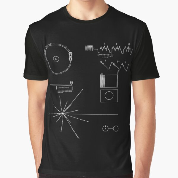 The Voyager Golden Record Graphic T-Shirt