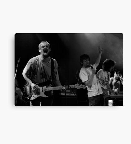Slow Motion Heroes Canvas Print