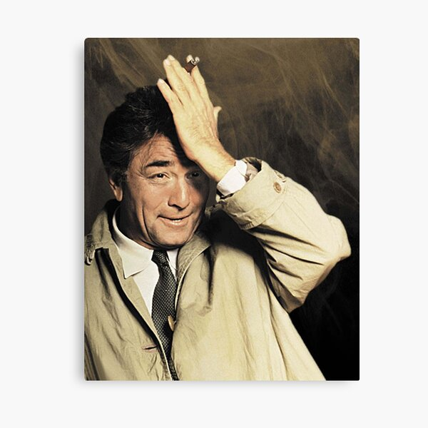 Columbo - Impression sur toile