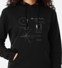 The Voyager Golden Record Lightweight Hoodie