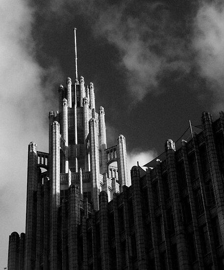 Gotham City by Andrew  Makowiecki
