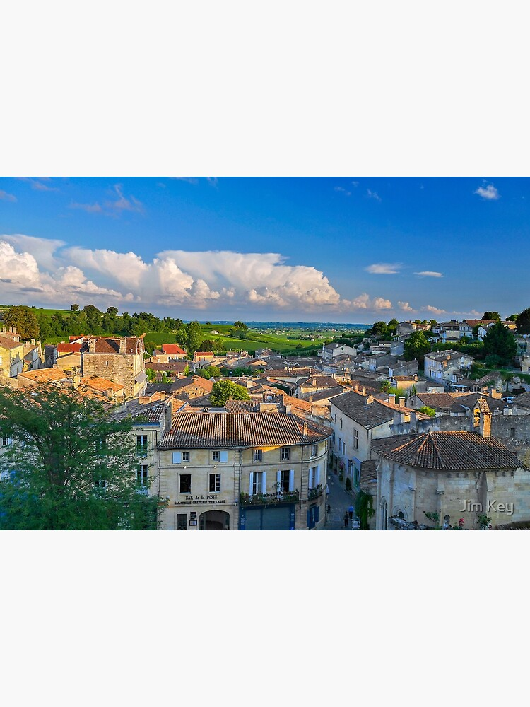 Saint-Emilion - Landscape from the Rooftops by AlexJa