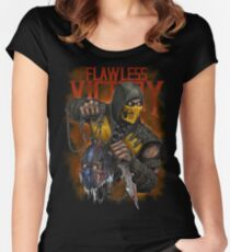 Scorpion: Flawless Victory Women's Fitted Scoop T-Shirt