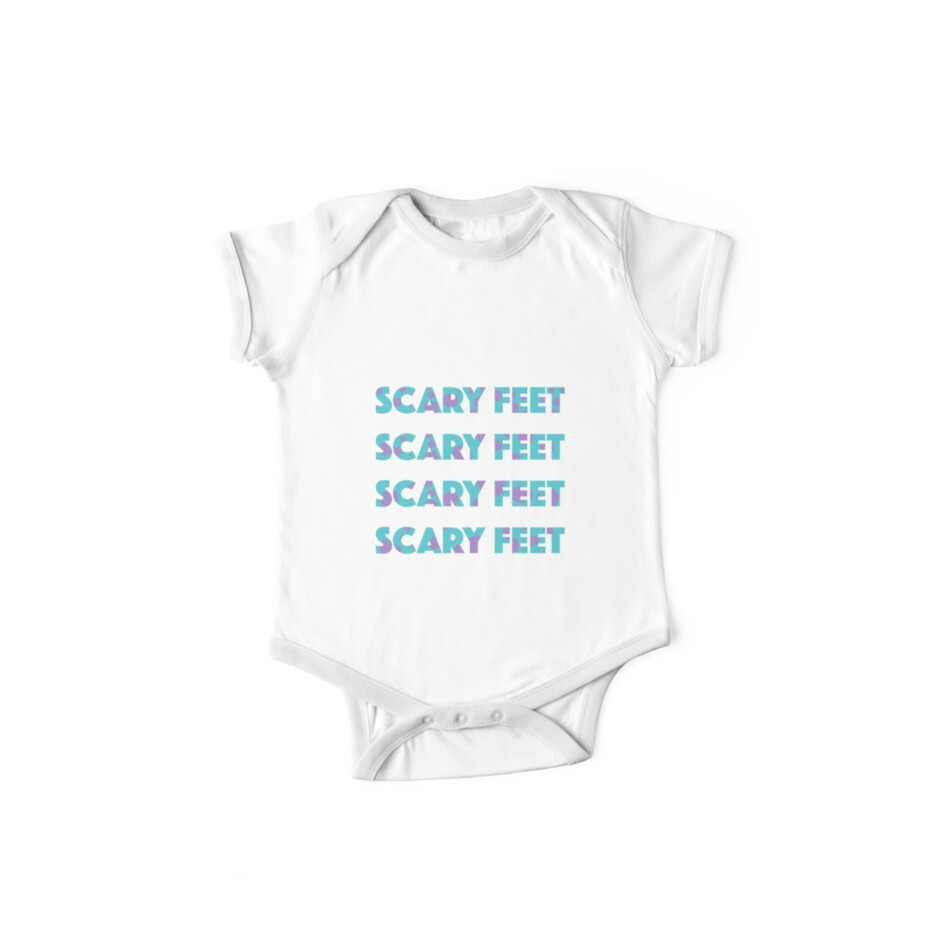 sulley scary feet monsters inc text one piece short sleeve by